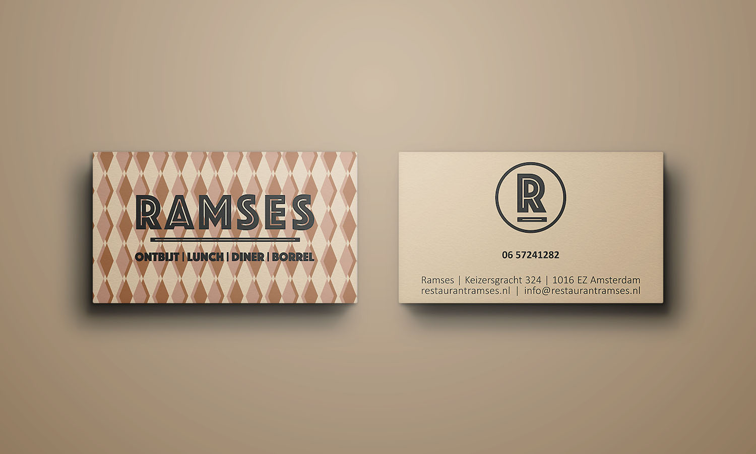 Ramses business cards